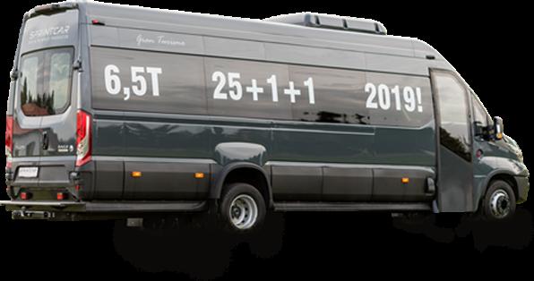 Bus do 27 miejsc